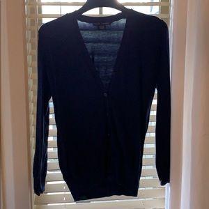 Ralph Lauren cardigan navy size large